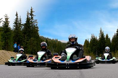 Speed and joy at Elvedalen gokart|