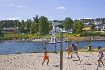 Beaches in Gjøvik municipality