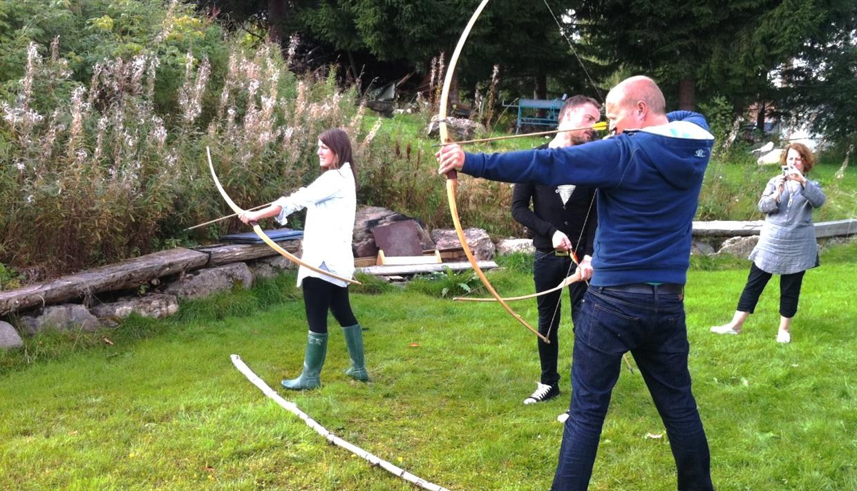 Teambuilding and conference on Stensveen Ressurssenter